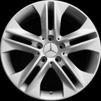 "17"" Mercedes 5 Double Spoke wheels B66474514 B66474515"