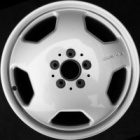 "refurbished 18"" AMG II alloy wheels"