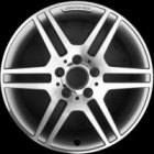 "refurbished 17"" AMG IV alloy wheels"