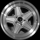"refurbished 16"" AMG Spoked alloy wheels"