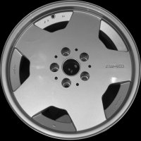 "17"" AMG Monoblock - Not available wheels B66020070"