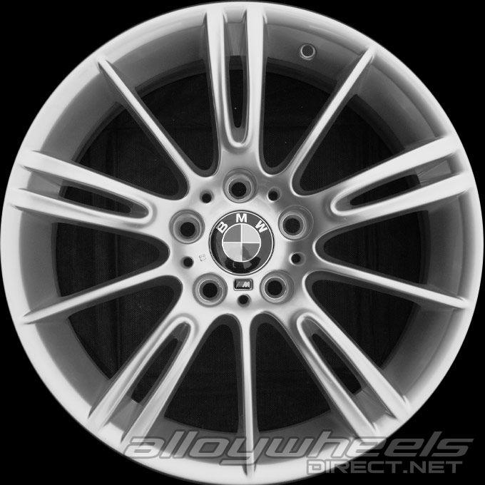 """18"""" BMW 193M Wheels In Silver"""