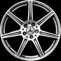 "20"" AMG 7 Spoke wheels A19740100027X21 A19740101027X21"