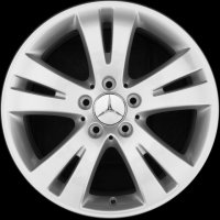 "17"" Mercedes 5 Twin Spoke wheels A20440104029765"