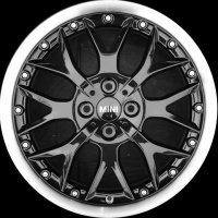 "17"" MINI R90 Cross Spoke 2pc wheels 36116780983"