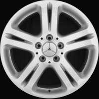 "17"" Mercedes 5 Twin Spoke wheels B66474374"