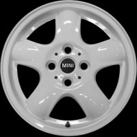 "15"" MINI R100 Spooler Spoke wheels 36116769404"