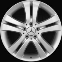 "18"" Mercedes 5 Twin Spoke wheels B66474287"