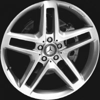 "20"" AMG 5 Double Spoke wheels B66031470 B66031471"