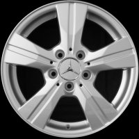 "16"" Mercedes 5 Spoke wheels B66474491"