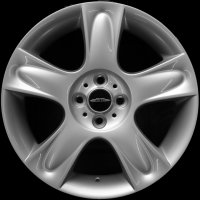 "17"" MINI R91 5 Star Bullet  wheels 36116763299"