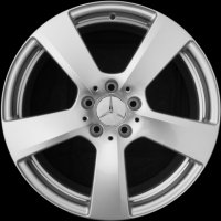 "18"" Mercedes 5 Spoke wheels A21240113029765 A21240114029765"
