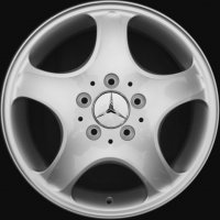 "16"" Mercedes Suhail wheels B66474001"