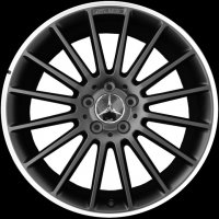 "19"" AMG V 16-spoke wheels B66031502 B66031503"