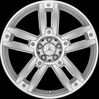 "20"" Mercedes Bigawa wheels A20440162027X07 A20440163027X07"