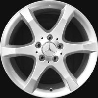 "17"" Mercedes Hoedus wheels B66474319 B66474320"