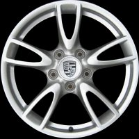 "18"" Porsche Carrera IV wheels 99736213701 99736214300"