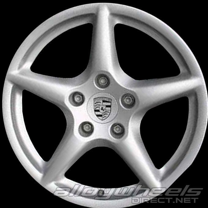 18 Quot Porsche Carrera Iii Wheels In Silver Alloy Wheels