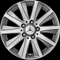 "16"" Mercedes 10 Spoke wheels B66474579"