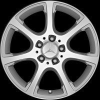 "17"" Mercedes 7 Spoke wheels A20440169027X19 A20440170027X19"