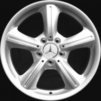 "17"" Mercedes 5 Spoke wheels B66470604 B66470605"
