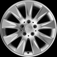 "17"" Mercedes 9 Spoke wheels B66474266 B66474267"