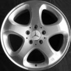 "refurbished 17"" Mercedes Alhena alloy wheels"