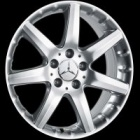 "refurbished 17"" Mercedes Alshain alloy wheels"