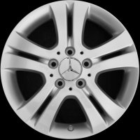 "16"" Mercedes 5 Double Spoke wheels A16940100009765"