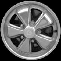 "14"" Porsche Perforated  wheels 91136101690"