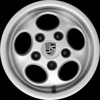 "15"" Porsche Phone Dial wheels 91136102346 95136210400"