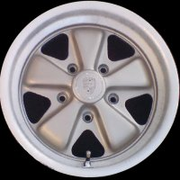 "15"" Porsche Unvarnished wheels 91136102010 91136102093"