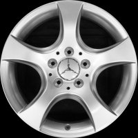 "16"" Mercedes Chertan wheels B66471913 B66471914"