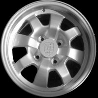 "14"" Porsche 4 Hole wheels 477601031B"