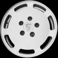 "16"" Porsche Perforated wheels 92836215501 92836215701"