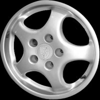 "17"" Porsche Cast Cup wheels 96536216405 96536216600"