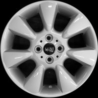 "16"" MINI R92 7 Fin wheels 36116763297"