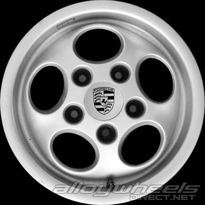 15 Quot Porsche Phone Dial Wheels In Silver Metallic Alloy