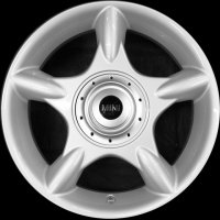 "16"" MINI R83 5 Spider Spoke  wheels 36111512348"