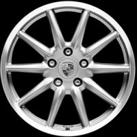 "19"" Porsche Carrera Sport wheels 99736215655 99736216256"