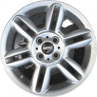 "16"" MINI R119 6-Star Twin Spoke wheels 36116791940"