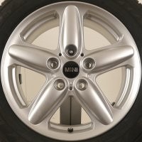 "16"" MINI R122 5-Star Single Spoke wheels 36109803720"