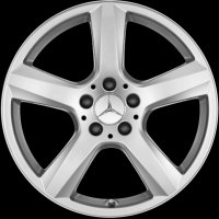 "18"" Mercedes 5 Spoke wheels A21840101027756 A21840107027756"