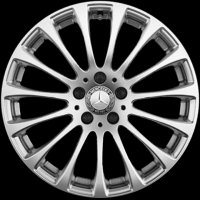 "18"" Mercedes 15 Spoke wheels A21840102029765 A21840103029765"