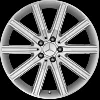 "19"" Mercedes 10 Twin Spoke wheels A21840108027X07 A21840109027X07"