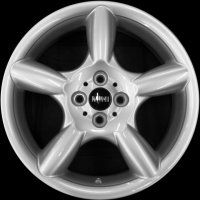 "17"" MINI R110 Pace Spoke wheels 36116777960"