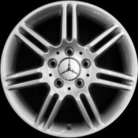 "16"" Mercedes 7 Twin Spoke wheels B66471823"