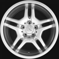 "17"" AMG IV wheels B66031302 B66031340"