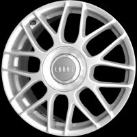 "17"" Audi Forked Spoke wheels 8D0601025RZ17"