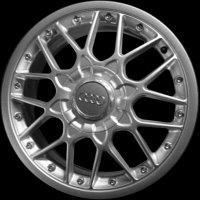 "18"" Audi Crossed Spoke wheels 4D0601025ACZ17"
